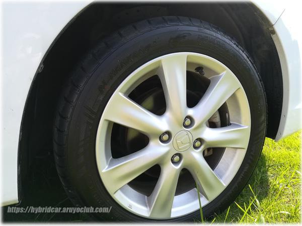 インサイト用のタイヤ
